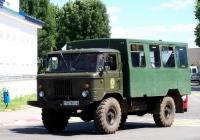 Вахтовый автобус ВМ-2001 на шасси ГАЗ-66 #АЕ 9674-6. Беларусь, Могилёвская область, Чериков