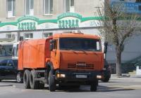 Каналопромывочная машина КО-512 на шасси КамАЗ-65115 #У 860 ЕУ 45. Курган, улица Ленина