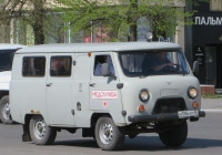 Санитарный автомобиль УАЗ-396295 #Н 586 КР 45. Курган, улица Куйбышева