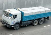 Бортовой грузовик КамАЗ-53215 #162-10 КА. Киев, улица О. Телиги