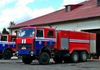 Пожарный автомобиль на шасси МАЗ-6317 #АЕ 8265-6. Беларусь, Могилёвская область, Круглое