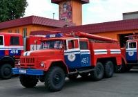 Пожарный автомобиль на шасси ЗиЛ-131 #ВЕ 6317. Беларусь, Витебская область, Толочин