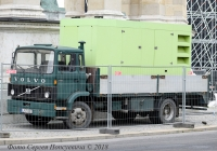 Грузовик Volvo F612 Гос. № LPZ-881. Венгрия, Будапешт, площадь Героев.