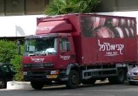 Фургон на базе DAF 55 210. Израиль, Эйлат