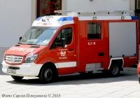 Пожарная машина Rosenbauer CL на шасси Mersedes-Benz. Гос. № W 40268 E.. Австрия, Вена