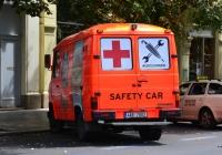 Фургон Mercedes-Benz T2 #4AB 7003. Чехия, Прага