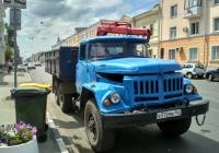 Бортовой грузовик ЗиЛ-131НА с КМУ #В 572 ЕВ 163. Самара, улица Фрунзе