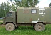 Фургон К66 на шасси ГАЗ-66-12 #В 080 МР 47. Псковская область Порховский район д,Нестрино