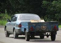 Прицеп КМЗ-8119 #1627 АЭ. Алтайский край, Змеиногорск, улица Ленина