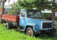 Самосвал на базе ГАЗ-3307 #2726 АБЧ. Алтайский край, Змеиногорск, Колыванский переулок