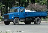 Грузовик ГАЗ-3309. Гос. № АА 8067 СI.. Киев, улица Стеценко
