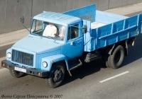 Грузовик ГАЗ-3307. Гос. № 15 95 КIА.. Киев, улица О. Телиги