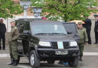 Военный автомобиль УАЗ-3163 #6784 УА 12.  Курган, улица Гоголя