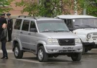 Военный автомобиль УАЗ-3163 #6757 УА 12.  Курган, улица Гоголя