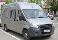 "Фургон ГАЗ-А32R32 ""Газель Next"" #Е 512 АО 134. Курган, улица Ленина"