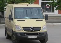 Инкассаторский автомобиль Евраком 28402-03 на шасси Mercedes-Benz Sprinter #В 770 ХУ 98.  Курган, улица Гоголя
