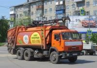 Мусоровоз МК-4441-08 (МКЗ-4701-02) на шасси КамАЗ-65115 #С 675 КР 45.  Курган, улица Гоголя