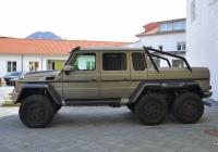 Пикап Mercedes-Benz Brabus B63S 700 6x6. Австрия, Зальцбург