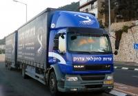 Грузовик DAF LF*. Израиль, Хайфа