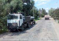 КДМ СДК-555102 на шасси МАЗ-5551А2 # Х 675 ВМ 60. Псковская область, Порховский район, пос.Логовино