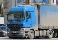 Седельный тягач Mercedes-Benz Actros  #Х 734 МУ 174.  Курган, улица Куйбышева
