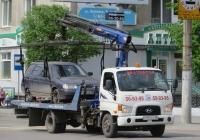 Эвакуатор 43892В на шасси Hyundai HD78 #С 961 КС 45.  Курган, улица Куйбышева