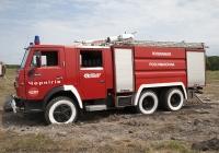 Пожарная автоцистерна TLF-6500 на шасси КамАЗ-53211 Гос. № 6230 Ч2. Нежин. Черниговская область. Нежин. Аэродром МЧС Украины