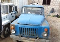 Ассенизационная машина АНМ-53 на шасси ГАЗ-53-14 # Н 602 АВ 60. Псковская область, город Порхов