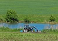 Фронтальный погрузчик на базе трактора Беларус-82.1. Белгородская область, Алексеевский район