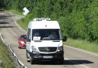 Микроавтобус Луидор-223602 на базе Mercedes-Benz Sprinter #В 599 ВА 138. Иркутская область, Листвянка, Байкальский тракт