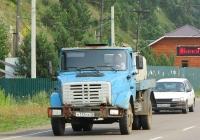 Автоцистерна Г6-ОПА-4,9 на шасси ЗиЛ-433362 #К 117 РА 38. Иркутская область, Листвянка, улица Горького