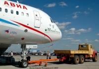 Аэродромный тягач КрАЗ-260 #Р 117 ЕУ 90 на МАКС-2005. Московская область, Жуковский