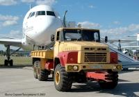 Аэродромный тягач КрАЗ-260 #Р 117 ЕУ 90 на авиасалоне МАКС-2005. Московская область, Жуковский