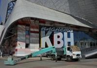 Автовышка на шасси Hyundai #Р 871 НА 77 . Москва, улица Сущёвский Вал