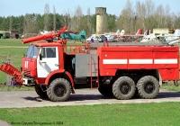 Аэродромный пожарный автомобиль АА-40(43105)-189 на шасси КамАЗ-43106 #197-85 КМ. Киевская область, аэродром Чайка