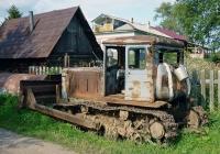 Бульдозер на базе трактора Т-74. Россия, Архангельская область,Приморский район, Залахотье