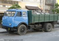 Грузовик МАЗ-500 #463-51 КТ. Киев, улица Ярославов вал