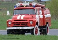 Пожарный автомобиль АЦ-40(130)-63Б #АА 2346 IК. Киев, Святошино, АНТК им. О.К. Антонова