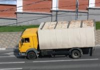 фургон на шасси КамАЗ-4308. Самара, Вилоновская улица