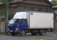 фургон на шасси Hyundai #Н 596 УО 163. Самара, Ленинская улица
