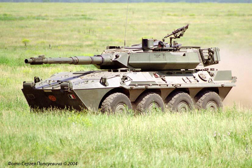 """Истребитель танков Iveco FIAT Oto Melara """"Centauro B1"""". № 25.. Николаевская обл."""