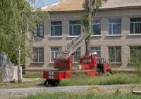 Пожарная автолестница АЛ-30(131)ПМ-506 на шасси ЗиЛ-131Н. Запорожская область, Пологский район, Пологи