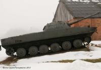 Плавающий танк ПТ-76. Выпуска после ноября 1955 г.. Житомирская область, Новоград-Волынский