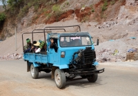 Бортовой грузовик. Мьянма, Таунджи