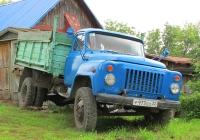 Самосвал ГАЗ-ФАЗ-3507 на шасси ГАЗ-53-14 #Р 973 ЕО 22. Алтайский край, Змеиногорск, улица Волкова