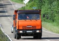 Самосвал 65115-8600001 на шасси КамАЗ-65115 #С 541 ХМ 38. Иркутская область, Листвянка, Байкальский тракт