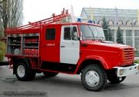 Пожарная автоцистерна АЦ-2,5-40/4 (433362) на шасси ЗиЛ-433362. . Киев, ВДНХ Украины