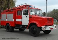 Пожарная автоцистерна АЦ-40(433362)-307 на шасси ЗиЛ-433362 № 3528 СМ.. Киев, ВДНХ Украины