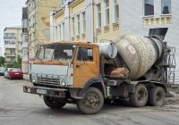 Бетоносмеситель СБ-92-1А на шасси КамАЗ-55111 #Т 611 ВУ 163. г. Самара, ул. Молодогвардейская