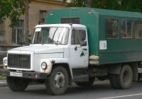 Вахтовый автобус на шасси ГАЗ-3307 #с 199 нм 163. г. Самара, ул. Маяковская